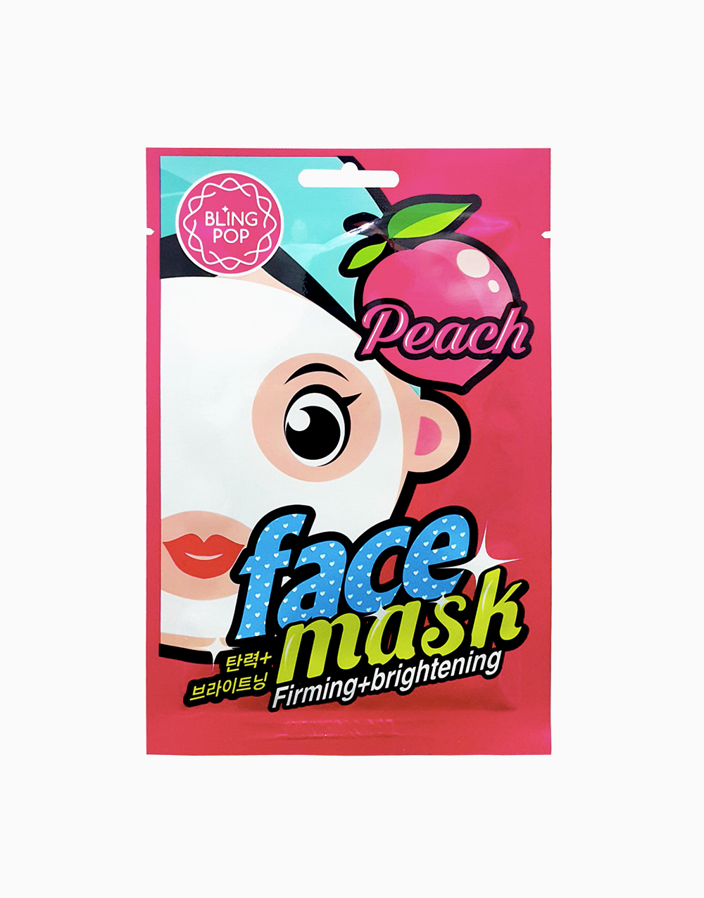 Peach Firming & Brightening Face Mask by BlingPop
