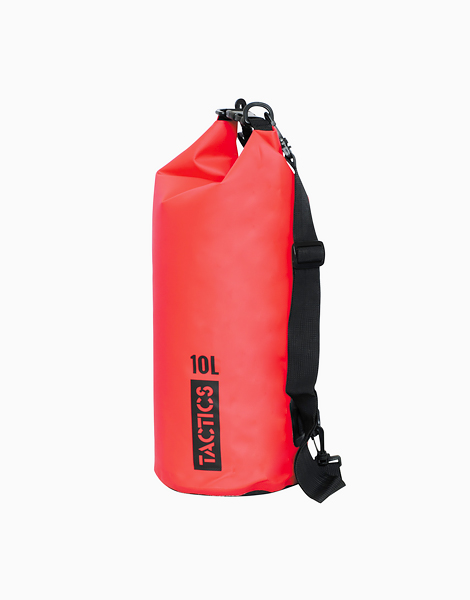 Ultra Dry Bag 10L by TACTICS WATER GEAR | Red