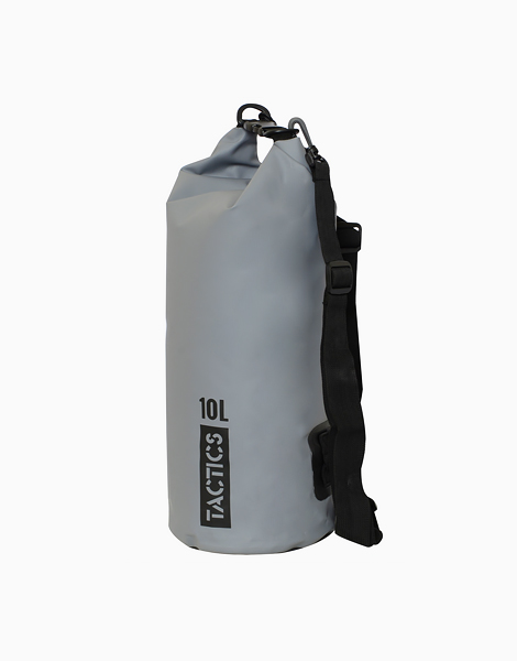 Ultra Dry Bag 10L by TACTICS WATER GEAR | Gray