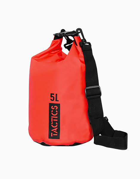 Ultra Dry Bag 5L by TACTICS WATER GEAR | Red