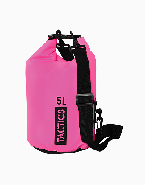 Ultra Dry Bag 5L by TACTICS WATER GEAR | Pink