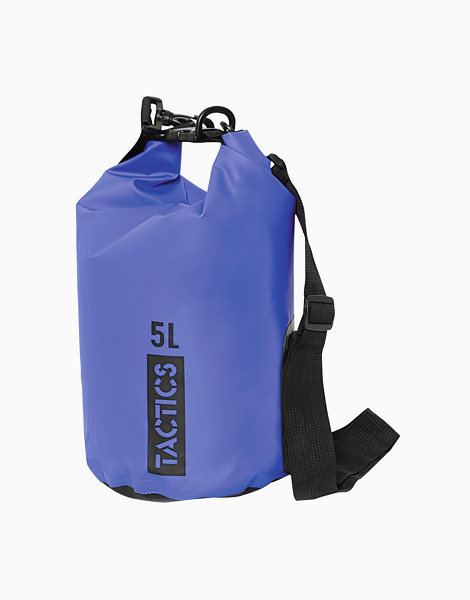 Ultra Dry Bag 5L by TACTICS WATER GEAR | Blue
