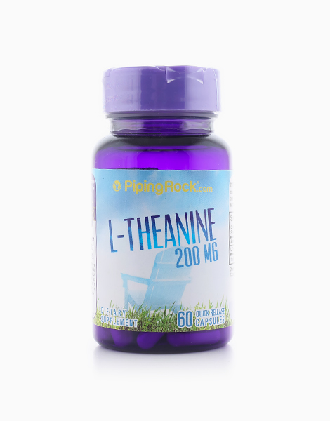 L-Theanine (60 Capsules) by Piping Rock