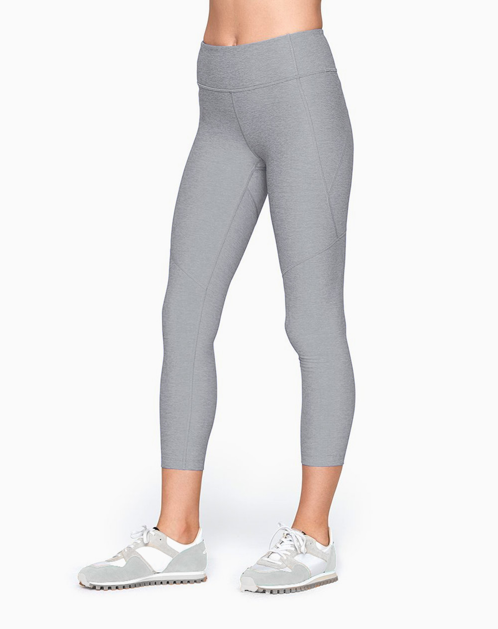 3/4 Warmup Leggings in Ash by Outdoor Voices |