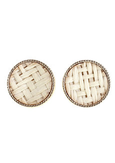 Merigold Weave Earrings Stud by Moxie PH