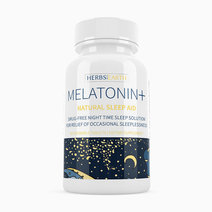 Melatonin+ Sleep Faster & Longer (50 Chewable Tablets) by Herbs of the Earth