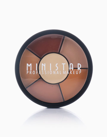 6-Shade Concealer & Contour Cream by Ministar