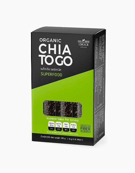 Organic Chia To-GO (10 Sachets) by Healthy Choice PH
