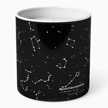 Constellation Scented Candle by Punchdrunk Panda