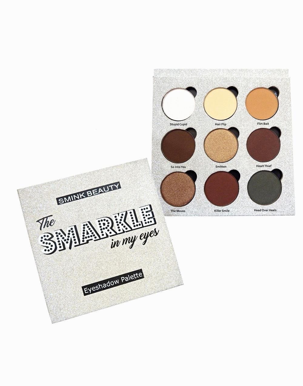The Smarkle Eyeshadow Palette by Smink Beauty PH |  Earthy Eva