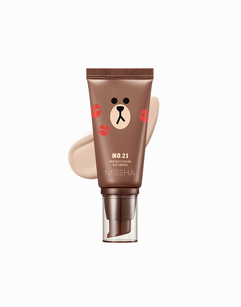 Perfect Cover BB Cream LINE Friends Edition SPF 42 / PA+++ by Missha | #21