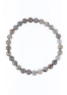 Labradorite Bracelet (6mm) by Made By KCA