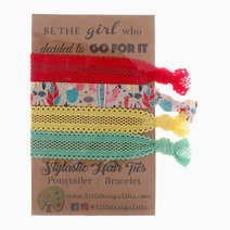 Tropical Cactus Hair Ties by Little Tree Palette