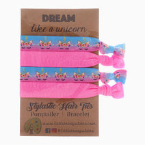 Cotton Candy Unicorn Hair Ties by Little Tree Palette
