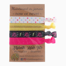 Girl Power and Rainbow Stars Hair Ties by Little Tree Palette