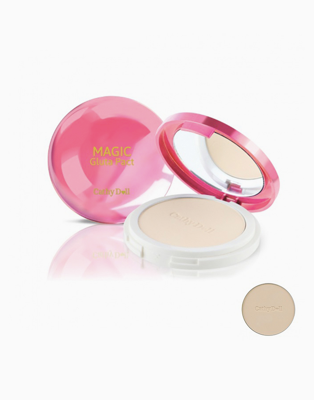 Magic Gluta Pact SPF 50 PA+++ by Cathy Doll | #21 Light beige