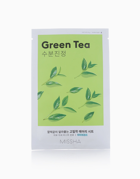 Airy Fit Sheet Mask by Missha | Green Tea