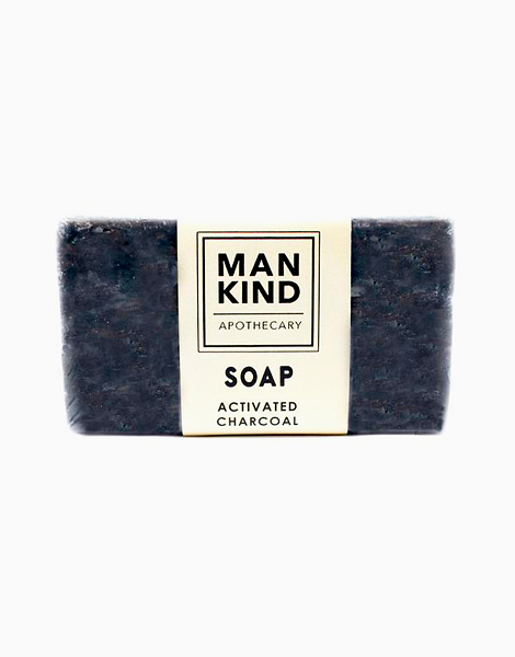 Activated Charcoal Soap (100g) by Mankind Apothecary Co.