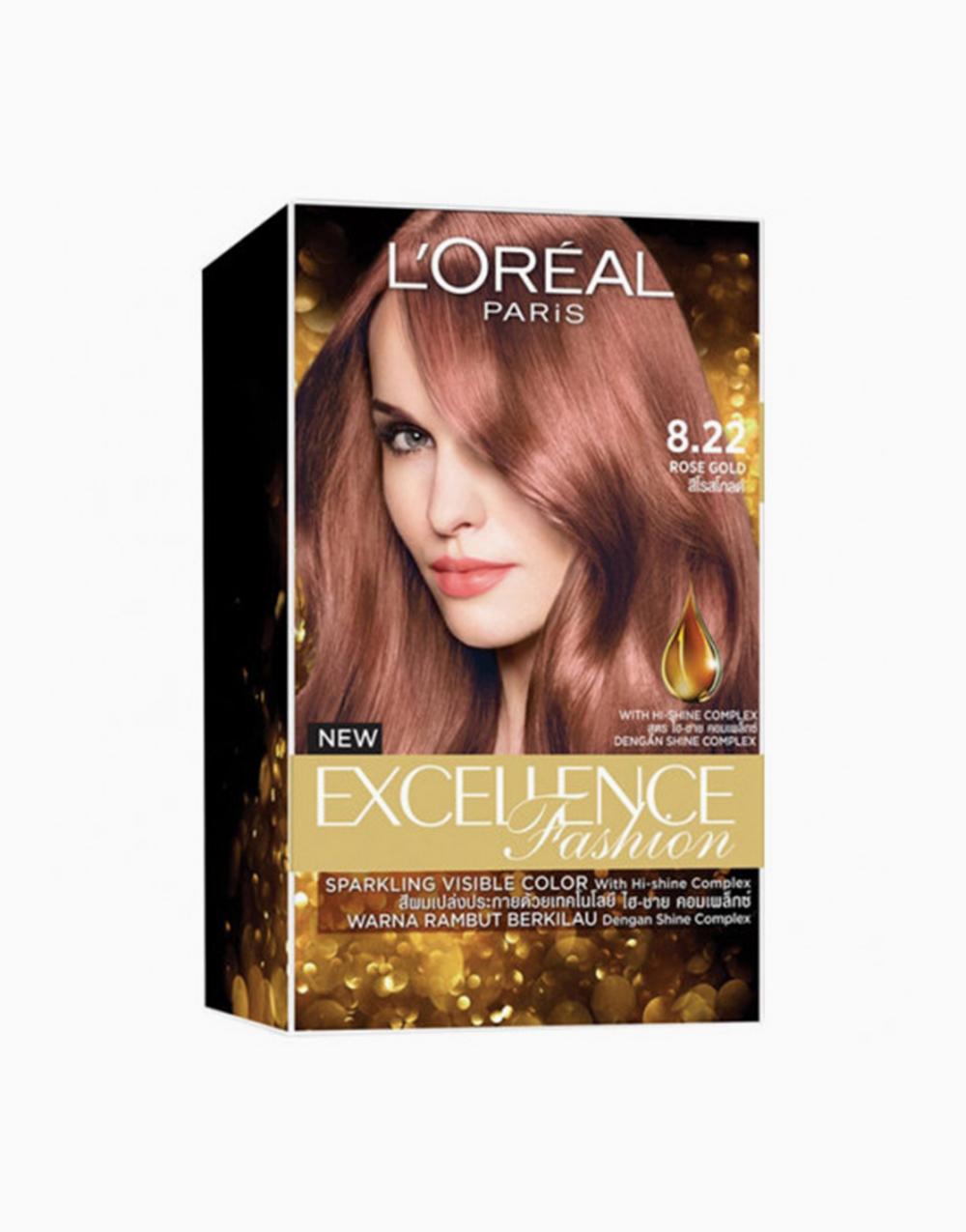 L'Oreal Paris Excellence Fashion by L'Oréal Paris   8.22 Rose Gold