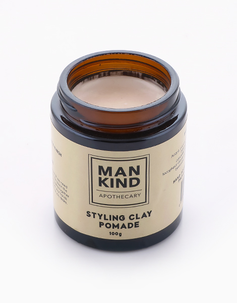 Styling Clay Pomade (100g) by Mankind Apothecary Co.