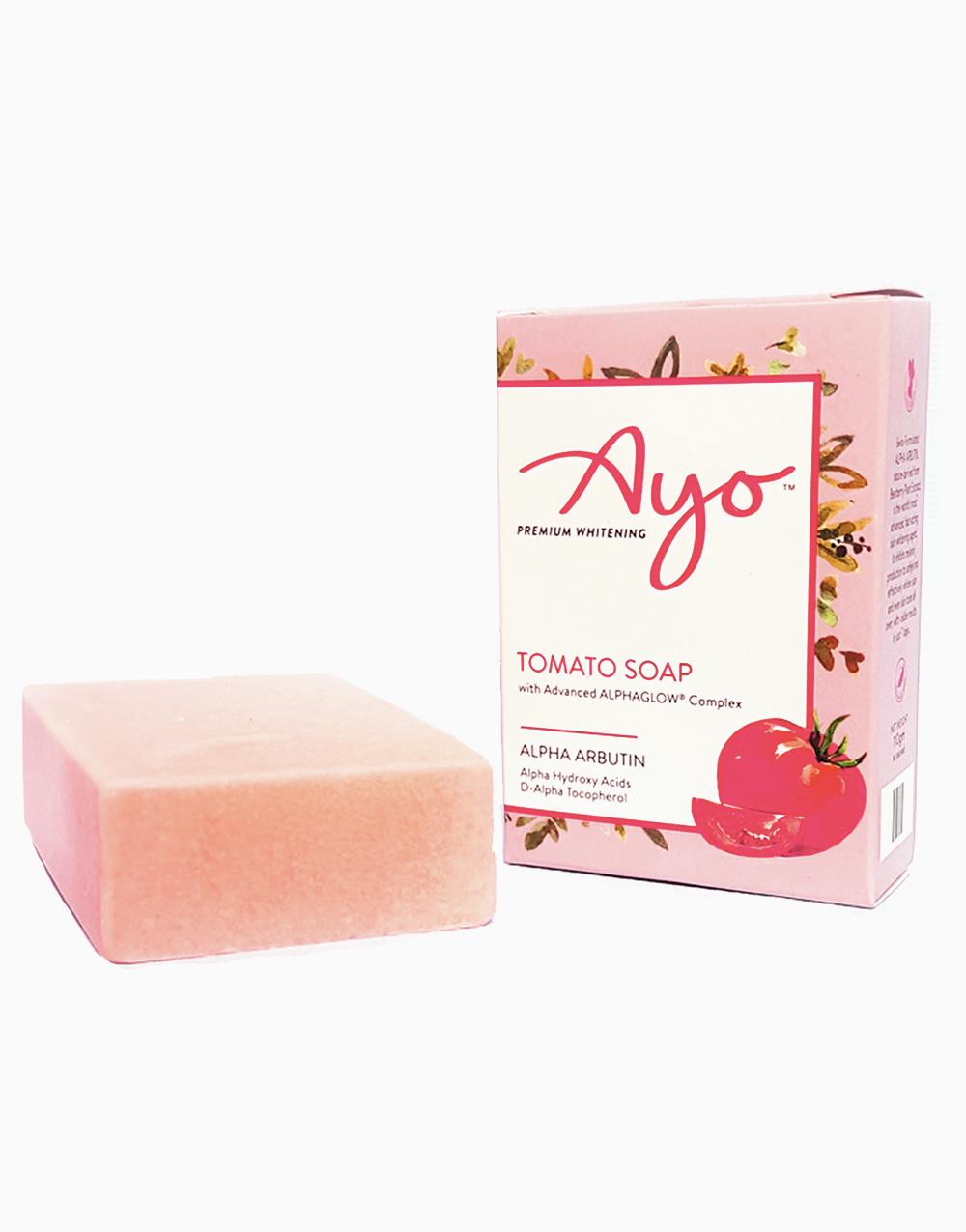Tomato Soap by Ayo Premium Whitening