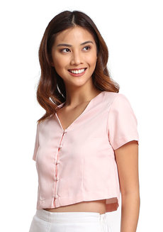 Betty Top (Apricot Peach) by V.alice Clothing
