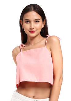 Pauline Top (Coral) by V.alice Clothing
