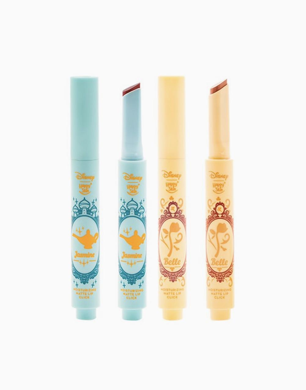 Happy Skin x Disney Moisturizing Matte Lip Click Duo (Limited Edition) by Happy Skin | Jasmine & Belle