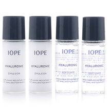 Iope hyaluronic softener and emulsion set