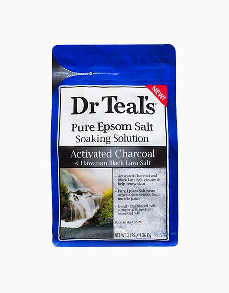 Activated Charcoal & Hawaiian Black Lava Salt Epsom Salt Soak (3lbs.) by Dr. Teal's
