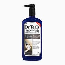 Charcoal body wash