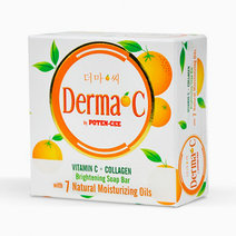 DERMA-C by Potencee Vit C+Collagen Brightening Bar Soap by Derma-C