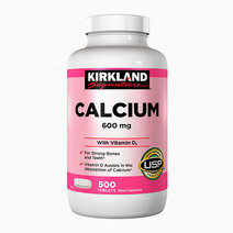 Kirkland calcium 600 mg. with vitamin d3  500 tablets