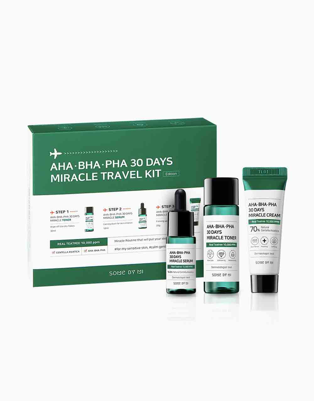 AHA BHA PHA 30 Days Miracle Travel Kit by Some By Mi