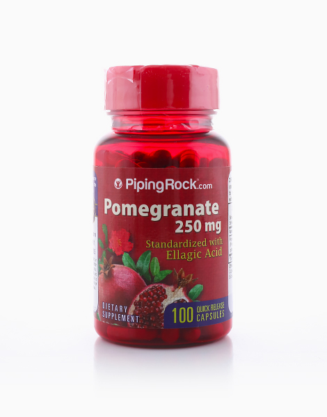 Pomegranate 250mg (100 Capsules) by Piping Rock