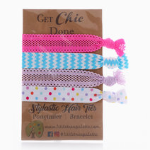 Funky Chic Hair Ties by Little Tree Palette