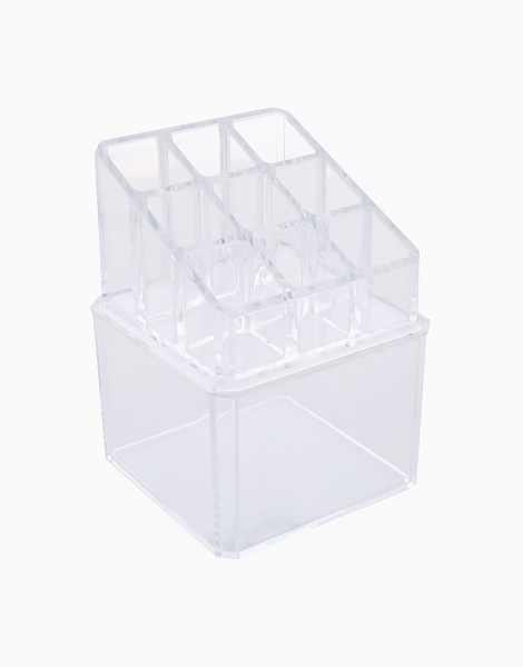 Acrylic Cosmetic Storage Stand with Vanity Box by Honest Tools