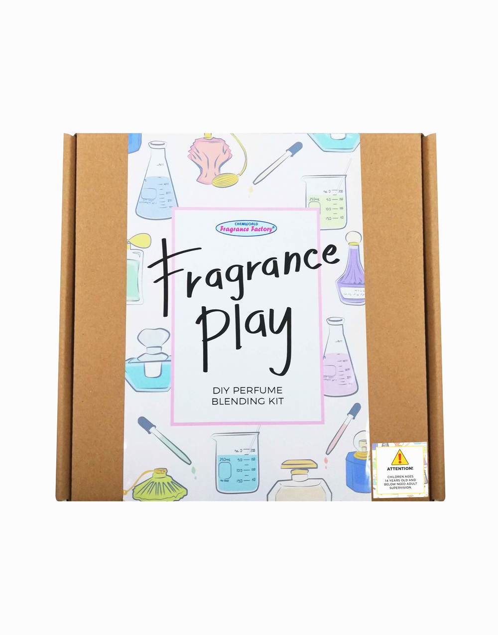 Fragrance Play Do-It-Yourself Blending Kit by Chemworld Fragrance Factory