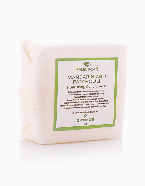 Mandarin and Patchouli Conditioner Bar (50g) by Kalikhasan Eco-Friendly Solutions
