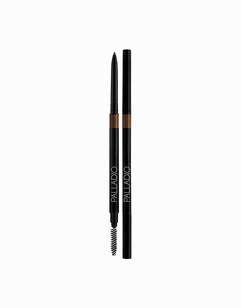 The Brow Definer Micro Pencil by Palladio | Medium Brown