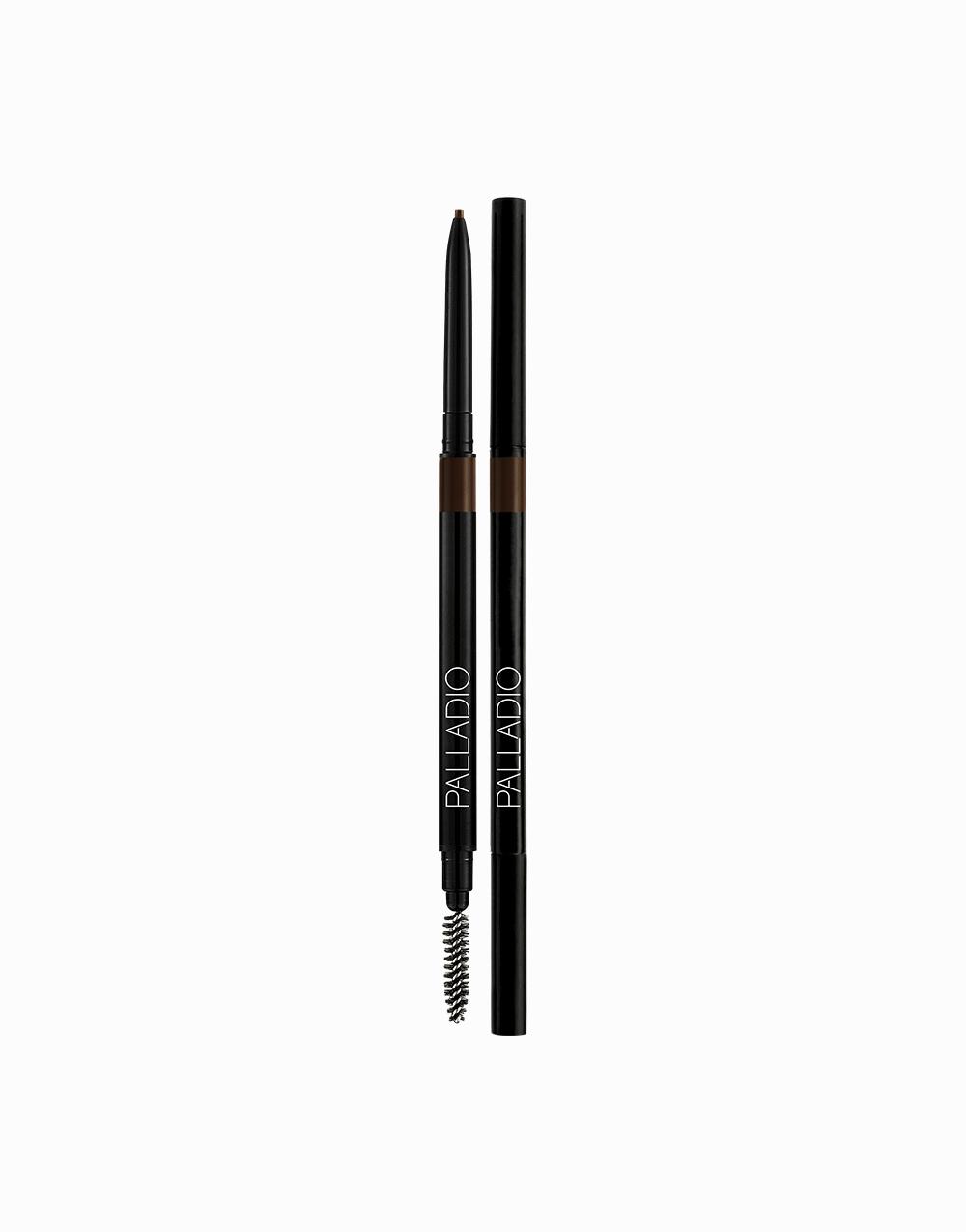 The Brow Definer Micro Pencil by Palladio | Black Brown