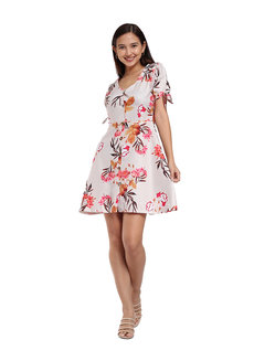 Sydney Printed Dress by Flair & Stare
