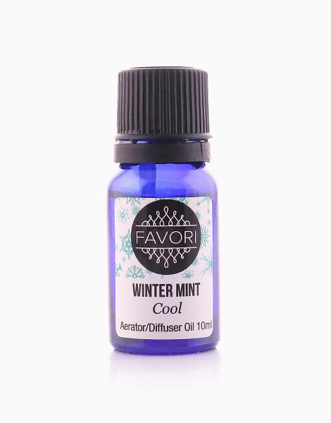 Winter Mint 10ml Aerator/Diffuser Aroma Oil by FAVORI