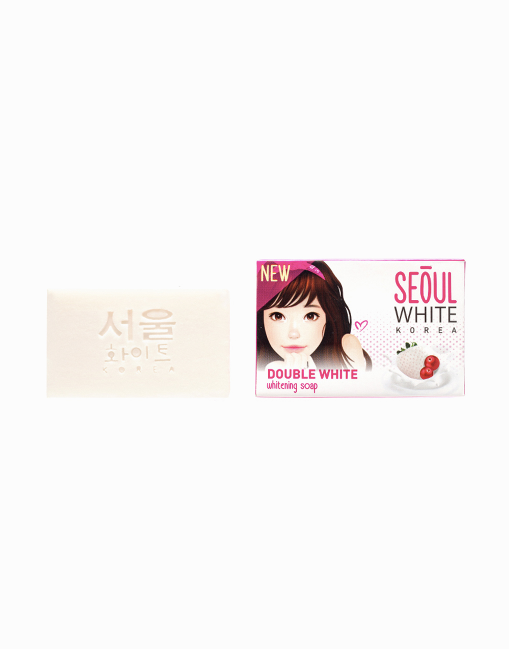 Double White Whitening Soap (60g) Set of 2 by Seoul White Korea
