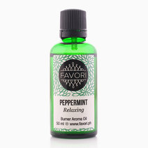 Peppermint 50ml Burner Aroma Oil by FAVORI