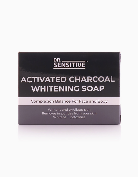 Activated Charcoal Whitening Soap by Dr. Sensitive