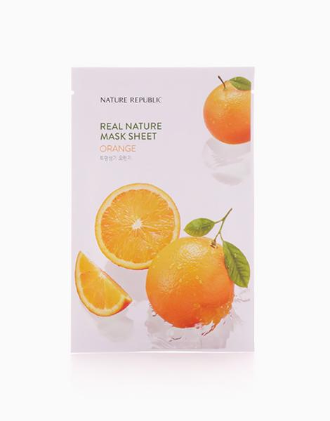Real Nature Orange Mask Sheet by Nature Republic