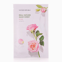 Real Nature Rose Mask Sheet by Nature Republic