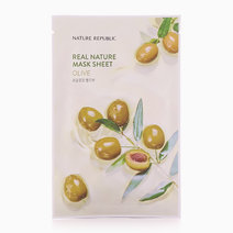 Real Nature Olive Mask Sheet by Nature Republic