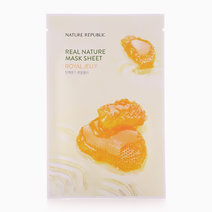 Real Nature Royal Jelly Mask Sheet by Nature Republic